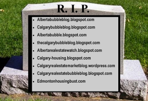 The graveyard of bubble blogs
